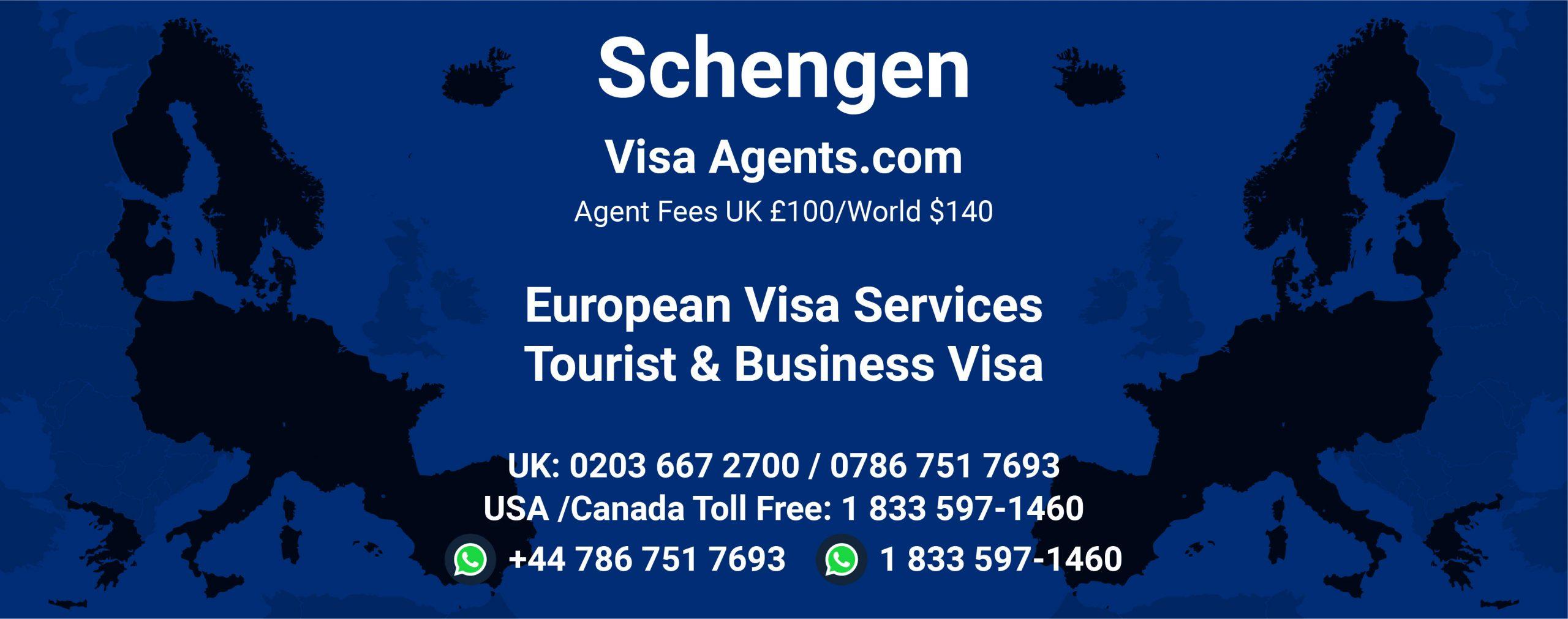 Schengen visa agents